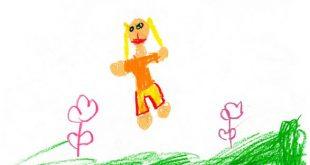 Децата обичат да изразяват своите чувства като рисуват