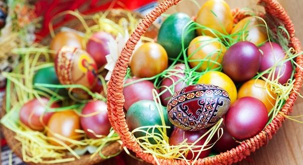Let's make the Easter eggs beautiful