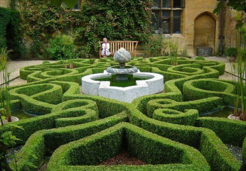Of boxwood can also do wonders.