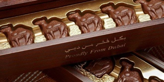 Amazing chocolate can be made with camel milk, and lately ice cream too
