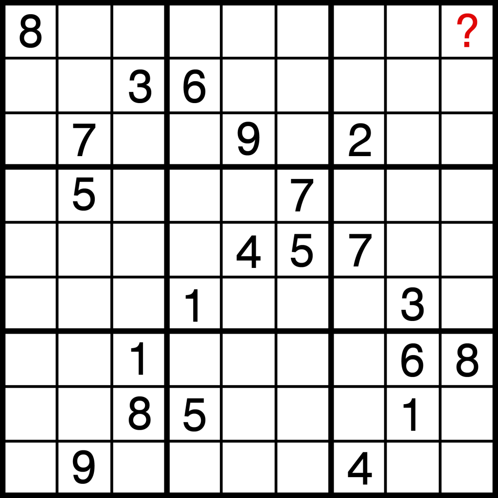 how to solve sudoku puzzles difficult