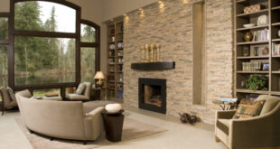 New trends in home interior – stone veneer and hardwood flooring